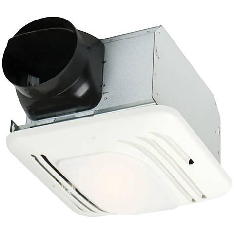 Craftmade Designer 80 CFM Silent Bath Exhaust Fan w/ Light