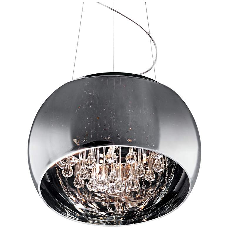"ET2 Sense 19 3/4"" Wide Polished Chrome Pendant"