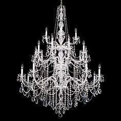 Schonbek lighting design your own chandelier page 6 lamps plus schonbek arlington collection 25 light crystal chandelier aloadofball Image collections