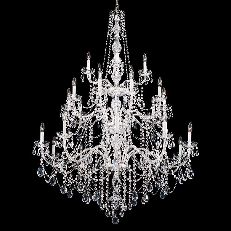 Schonbek Arlington Collection 25-Light Crystal Chandelier