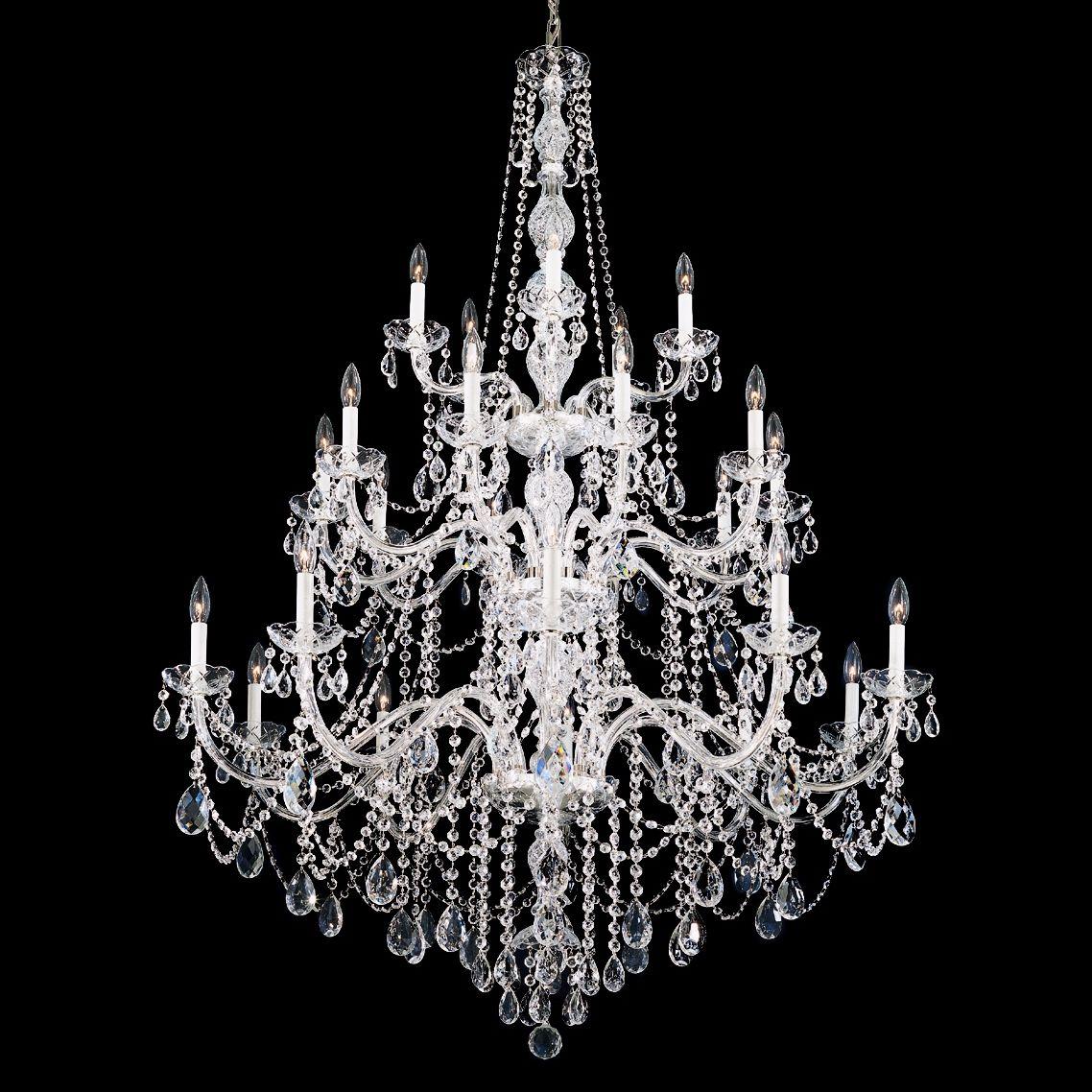Schonbek Arlington Collection 25 Light Crystal Chandelier
