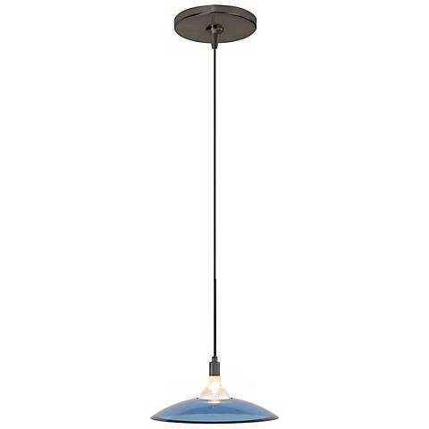 Diz Steel Blue Bronze Tech Lighting Mini Pendant