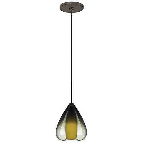 Soleil Olive Green Bronze Tech Lighting Mini Pendant