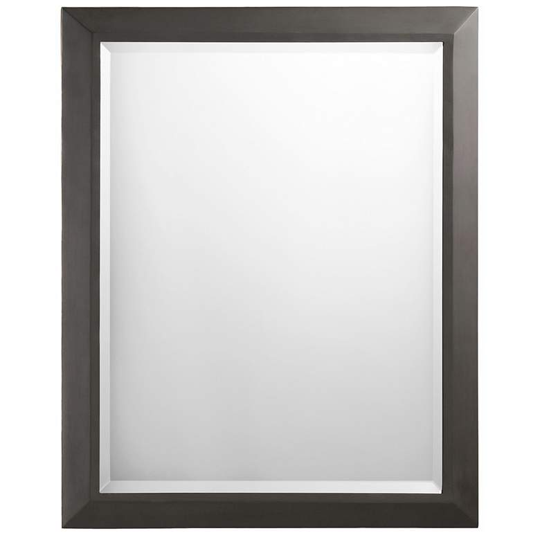"Kichler Olde Bronze 24"" x 30"" Rectangular Wall Mirror"