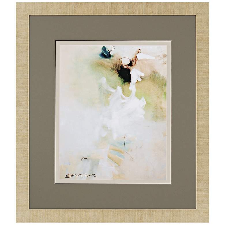 "Overjoyed I 33"" High 29"" Wide Framed Giclee Wall Art"