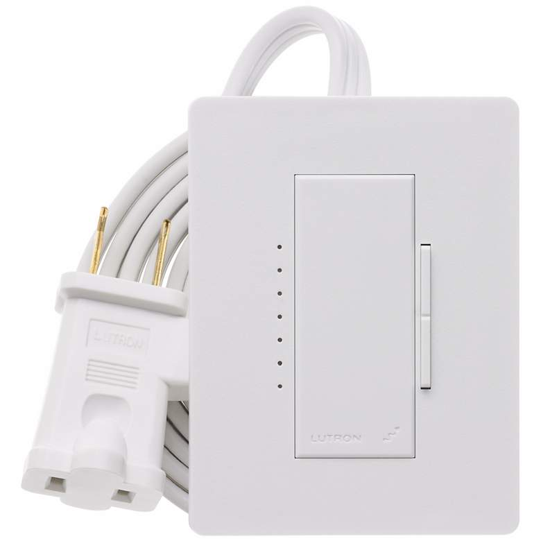 Lutron Maestro White Plug-In Lamp Dimmer