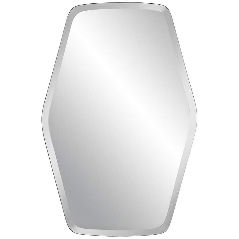 """Column Frameless 24"""" x 36"""" Beveled Wall Mirror"""