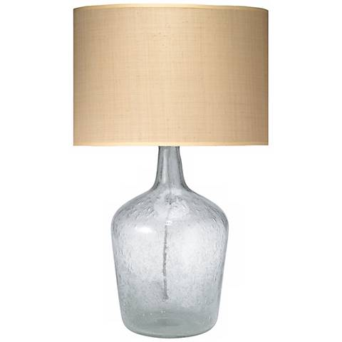 Jamie young medium clear glass plum jar table lamp p2487 lamps plus jamie young medium clear glass plum jar table lamp aloadofball Images