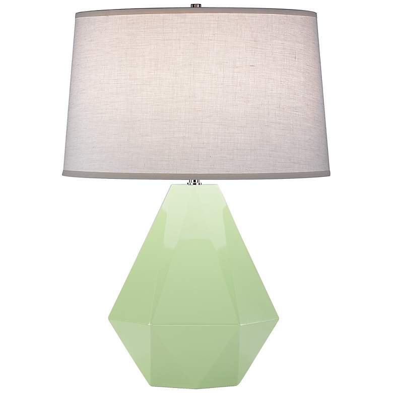 "Robert Abbey Delta Pistachio 22 1/2"" High Table Lamp"
