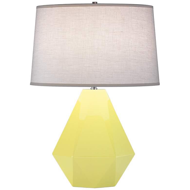 """Robert Abbey Delta Butter 22 1/2"""" High Table Lamp"""