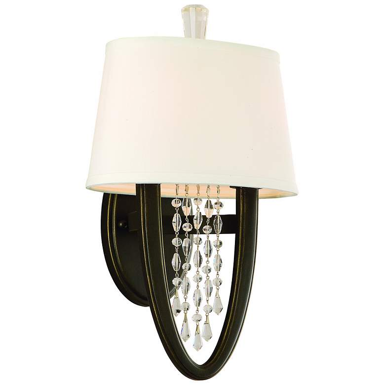 """Corbett Viceroy Collection 15"""" High Royal Bronze Wall Sconce"""