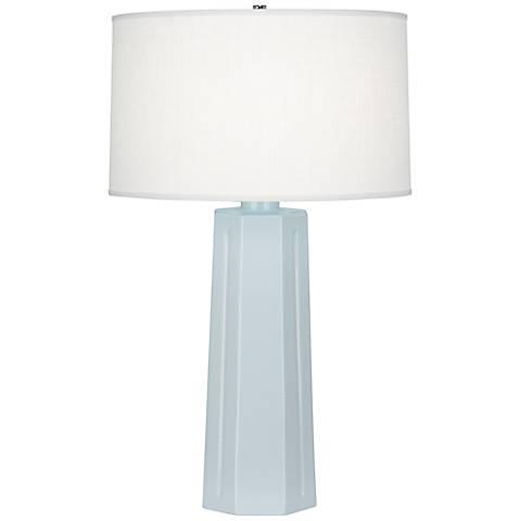 "Robert Abbey Mason Baby Blue 26"" High Table Lamp"