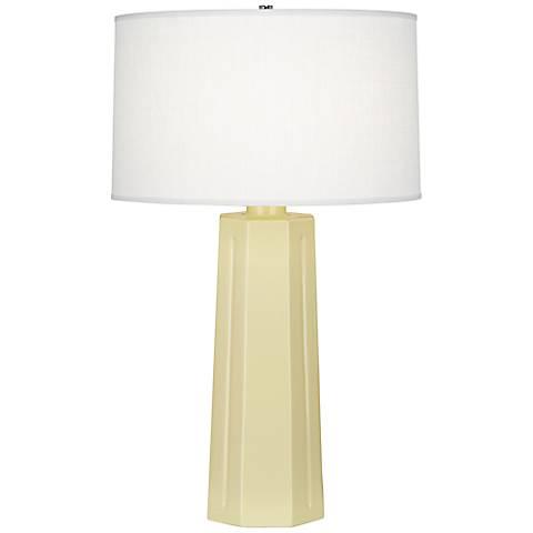 """Robert Abbey Mason Butter 26"""" High Table Lamp"""
