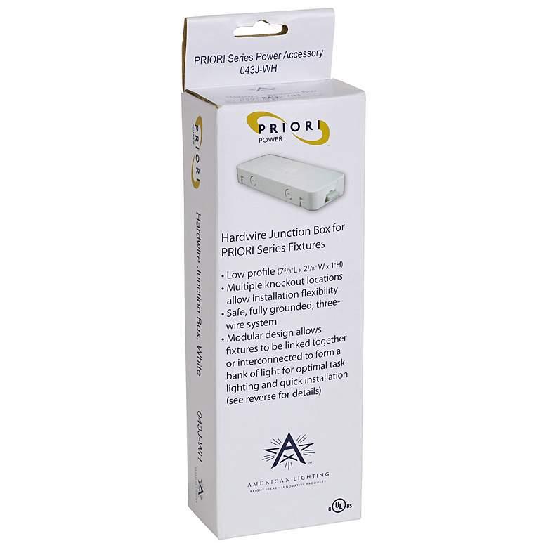 Junction Box for Priori Plus Under Cabinet Lighting
