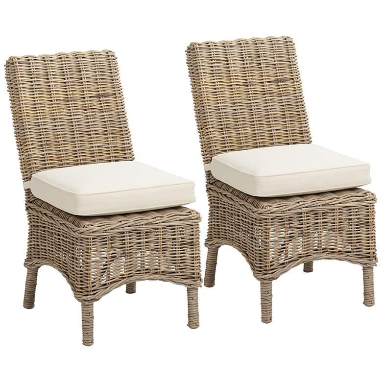 Key Largo Savannah Dining Chairs Set of 2
