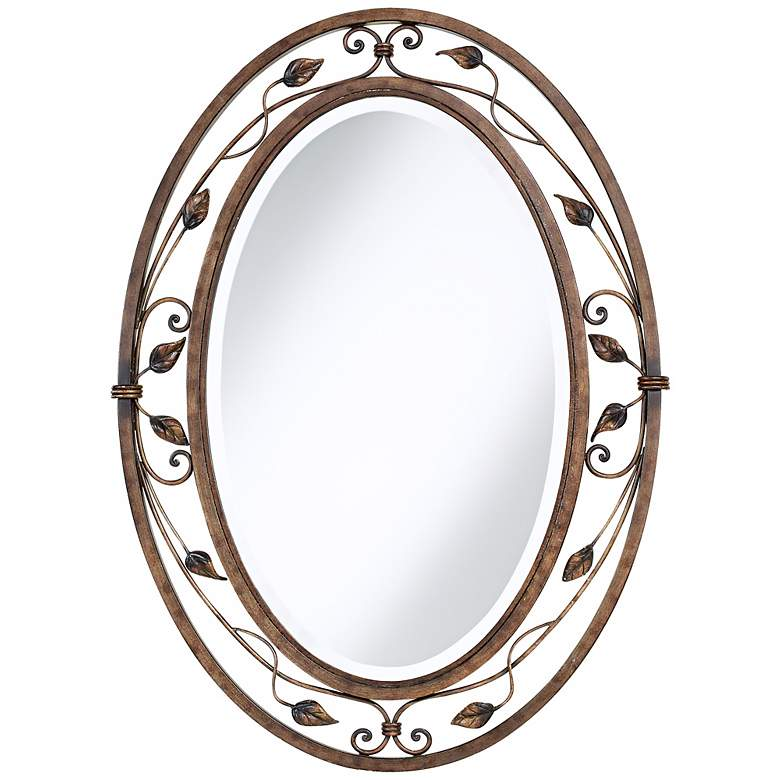"Eden Park Collection 24"" x 34"" Oval Wall Mirror"