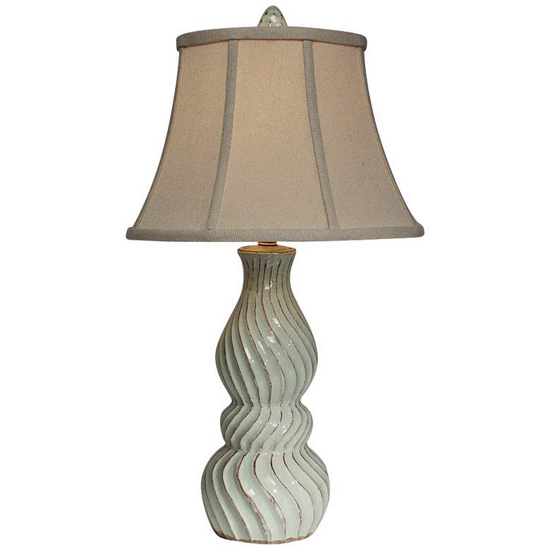 Natural Light Baltic Gourd Ceramic Table Lamp
