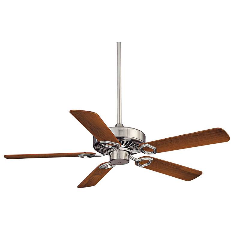 "54"" Minka Aire Ultra-Max Brushed Nickel Ceiling Fan"