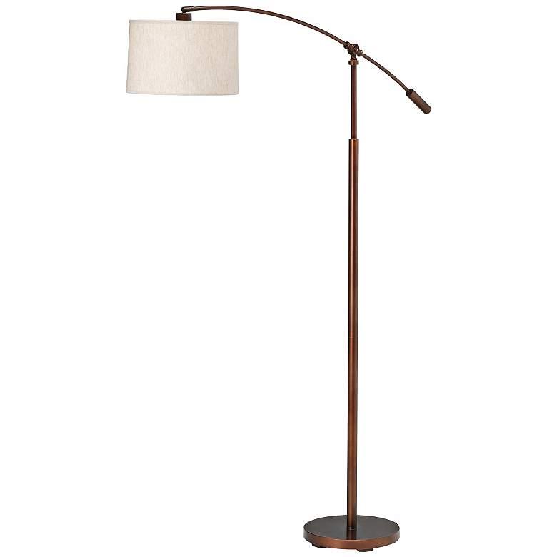 Kichler Cantilever Copper Bronze Finish Floor Lamp