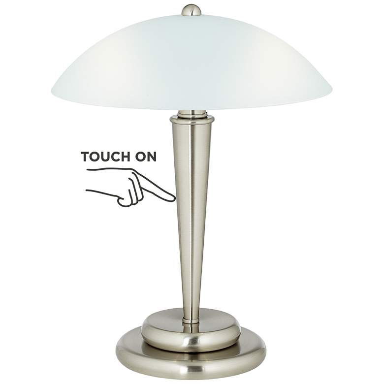 """Deco Dome 17"""" High Touch On-Off Accent Lamp"""