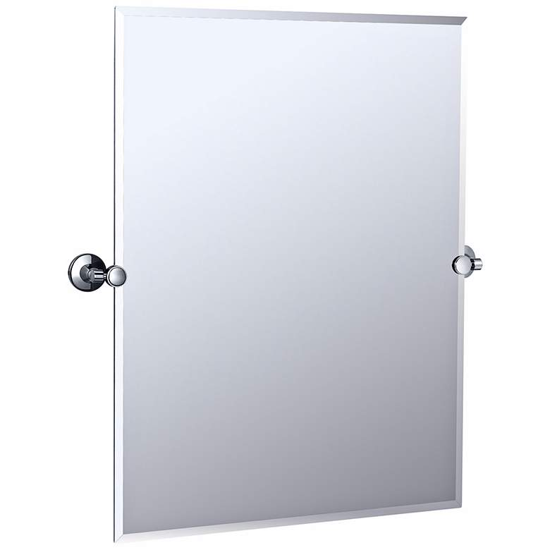 "Gatco Max Polished Chrome 27 3/4"" x 31 1/2"" Wall Mirror"
