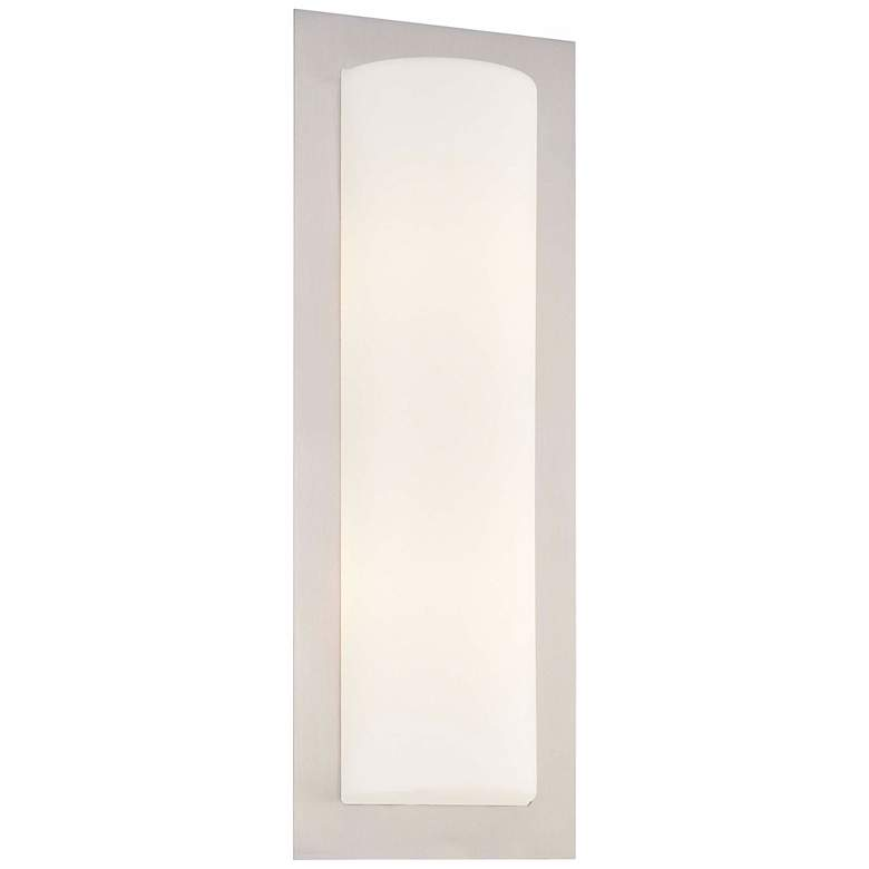 "George Kovacs Opal Glass 18"" High ADA Wall Sconce"