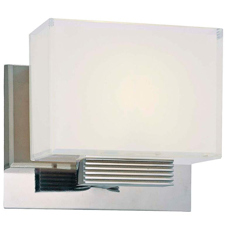 """George Kovacs Cubism 6 1/2"""" High Wall Sconce"""