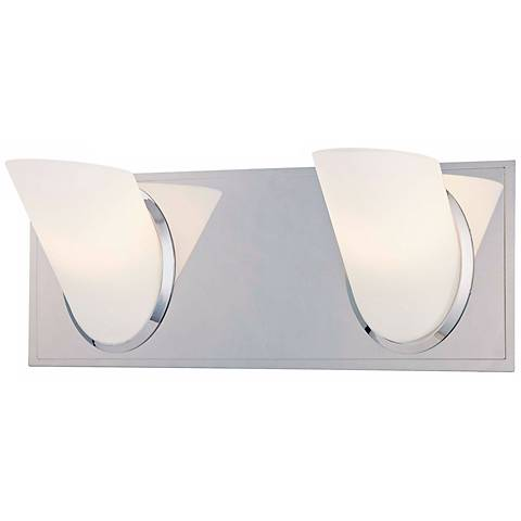 "George Kovacs Angle 13"" Wide Bathroom Wall Light"