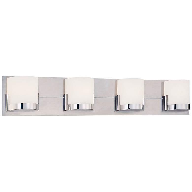 "George Kovacs Convex 29"" Wide Bathroom Wall Light"