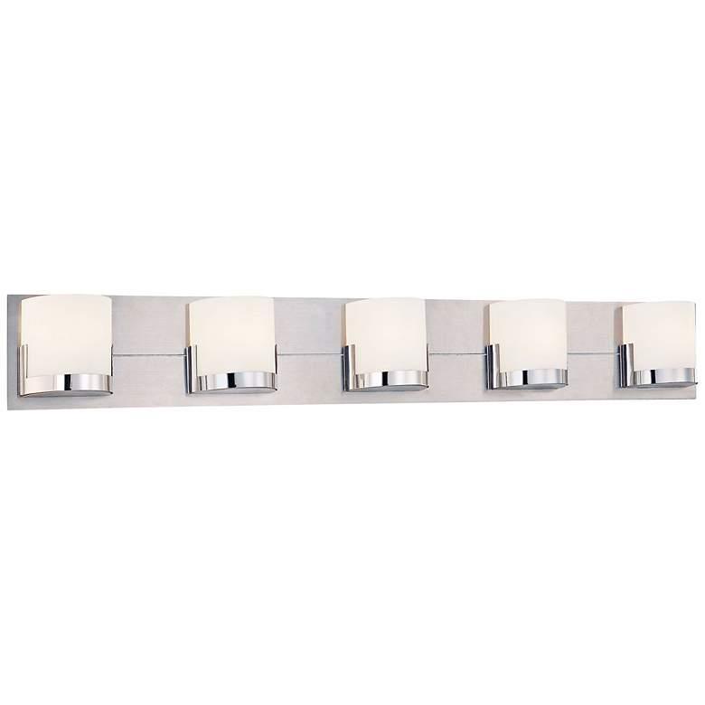 "George Kovacs Convex 36 3/4"" Wide Bathroom Wall Light"