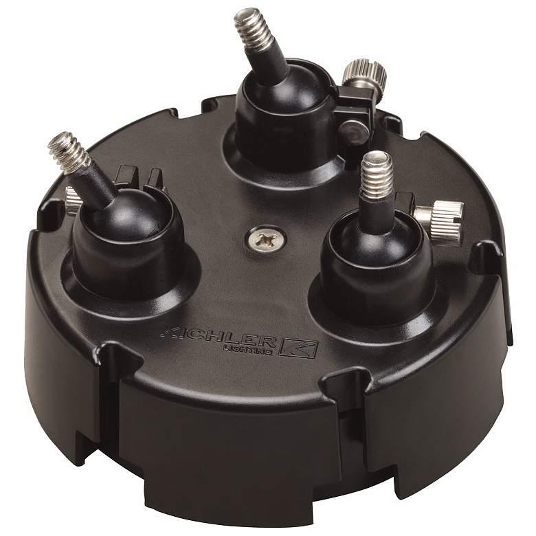 3-Light Adjustable Mounting Flange for LED Accent Light