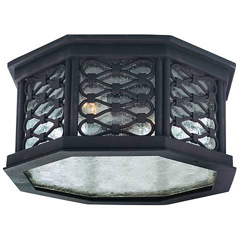 "Los Olivos 13"" Wide Indoor - Outdoor Ceiling Light"