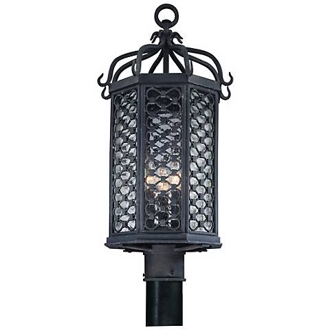 "Los Olivos Collection 23"" High Outdoor Post Light"