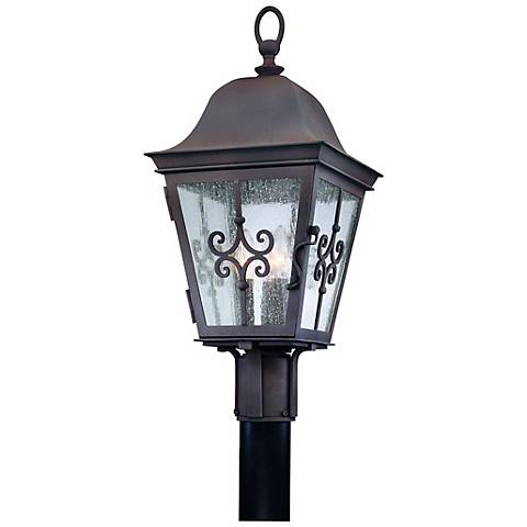 "Markham Collection 23"" High Outdoor Post Light"