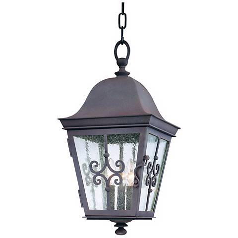 "Markham Collection 20 3/4"" High Outdoor Hanging Light"