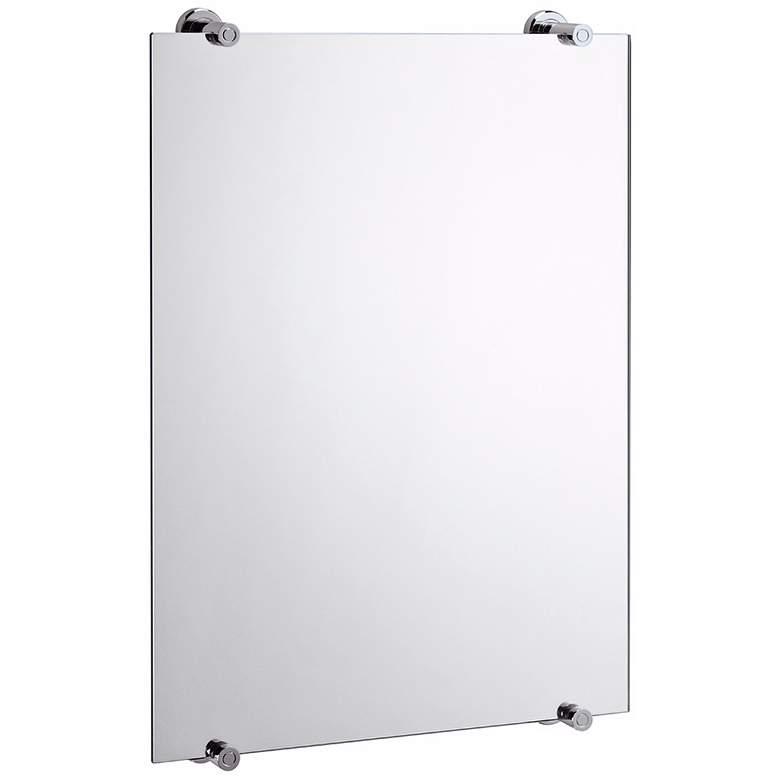 "Gatco Latitude 2 Polished Chrome 22"" x 32"" Wall Mirror"