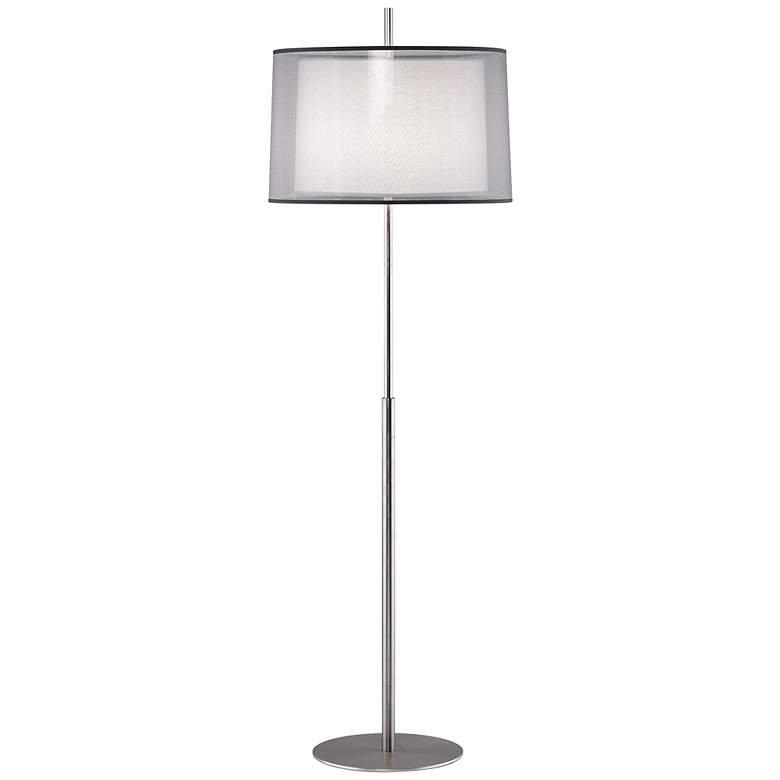 "Robert Abbey Saturnia 63 3/4""H Stainless Steel Floor Lamp"