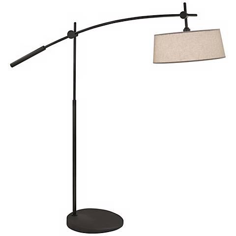 Rico Espinet Miles 2-Light Boom Patina Bronze Floor Lamp