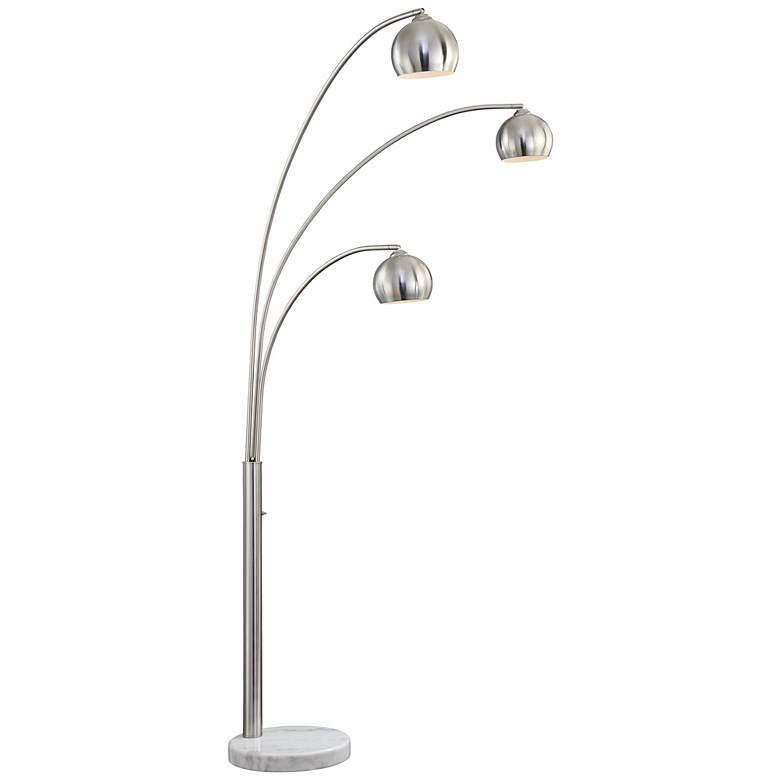 Crosstown 3-Light Arc Floor Lamp