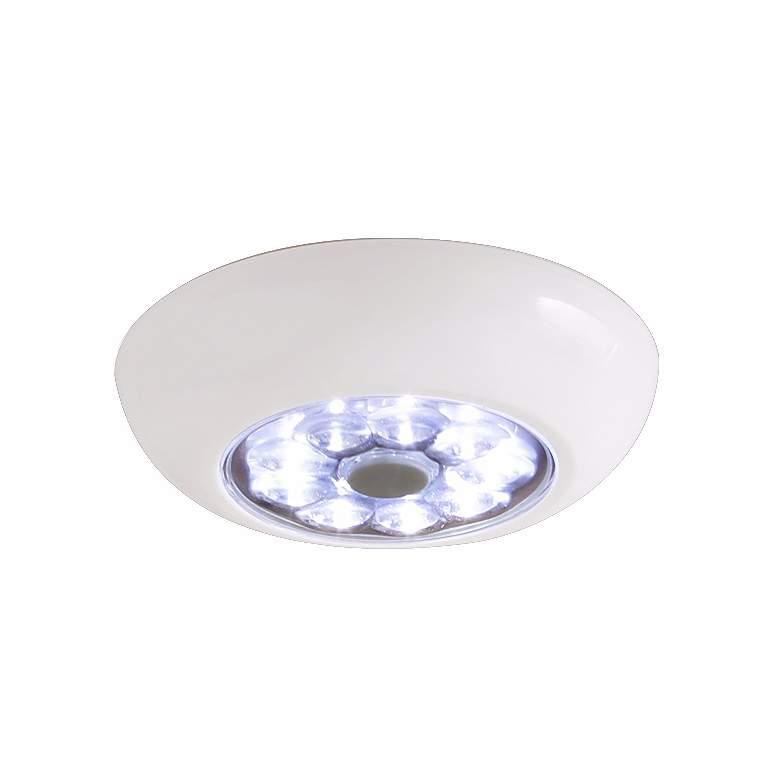 Fulcrum LED Anywhere XB White Stick-On Cordless Puck Light