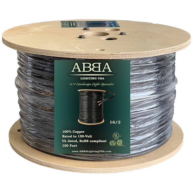 16/2 (16 AWG, 2 Conductor) 100 Feet Copper Landscape Wire