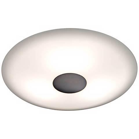"Holtkoetter Opalika 12 1/2"" Wide Old Bronze Ceiling Light"
