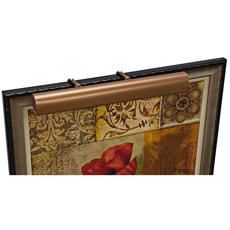 """Traditional 24"""" Wide Bronze Picture Light by House of Troy"""