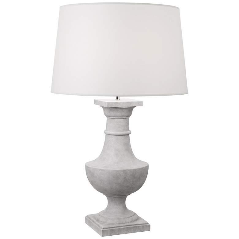 Robert Abbey Bronte Faux Concrete Table Lamp