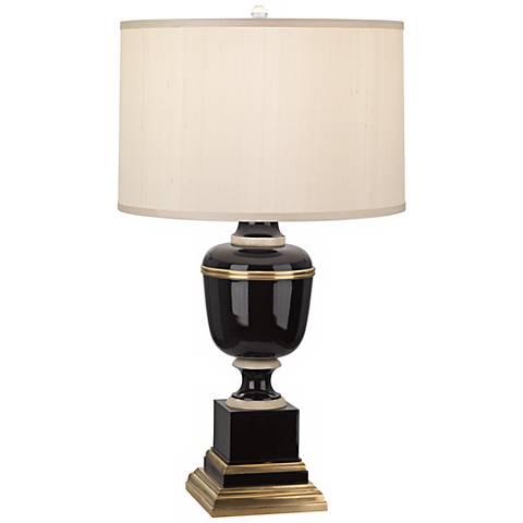Mary McDonald Annika Black Cloud Cream Shade Table Lamp