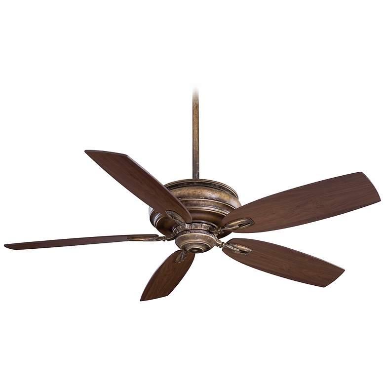 "54"" Minka Aire Timeless French Beige Ceiling Fan"