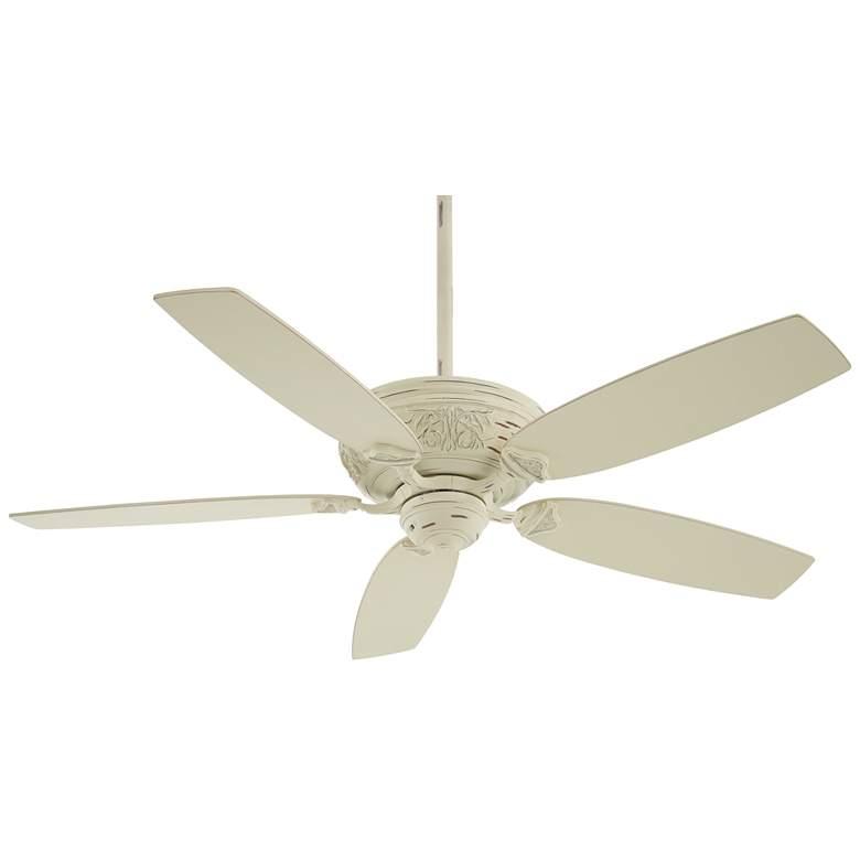 "54"" Minka Aire Classica Provencal Blanc Ceiling Fan"