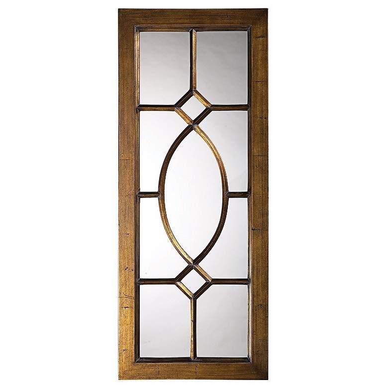 "Dayton Aged Bronze Window 21"" x 53"" Rectangular"