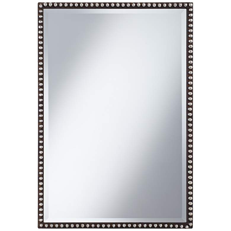 "Uttermost Tempe Rusty Brown 22"" x 32"" Wall Mirror"