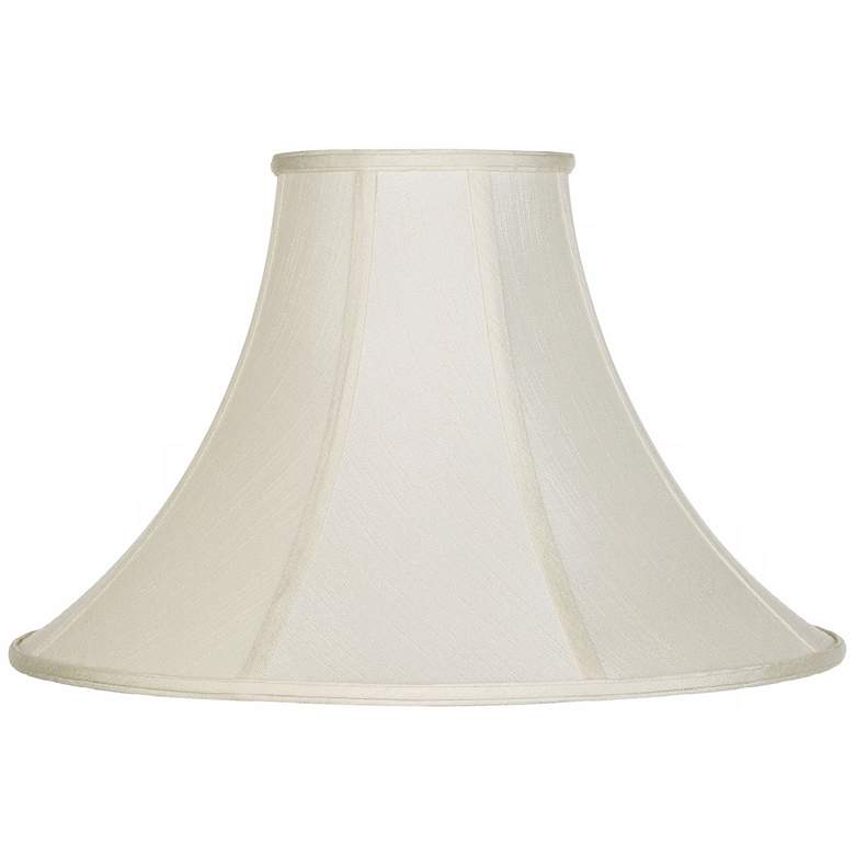 Creme Bell Lamp Shade 7x20x13.75 (Spider)